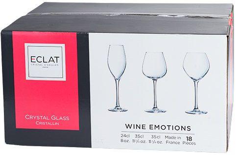 Cristal d'Arques Glazenset 18-Delig