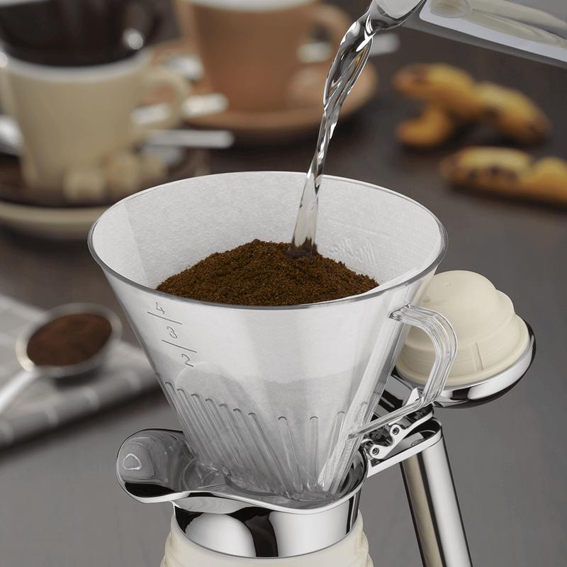 Alfi Koffiefilter Kunststof Transparant Maat 4