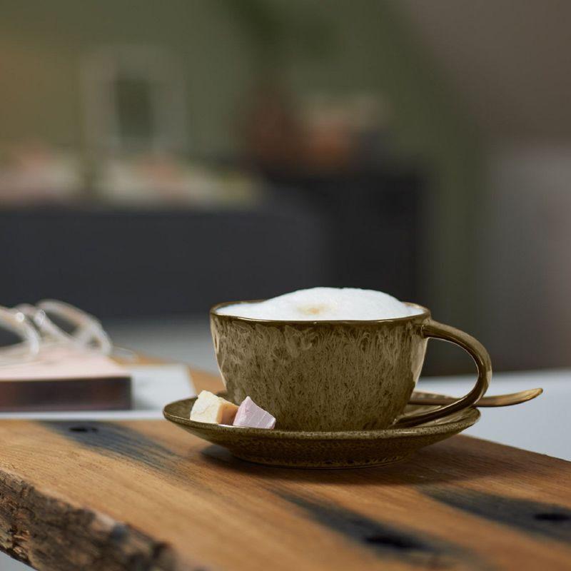 Leonardo Koffiekop Matera Beige 29 cl sfeer1