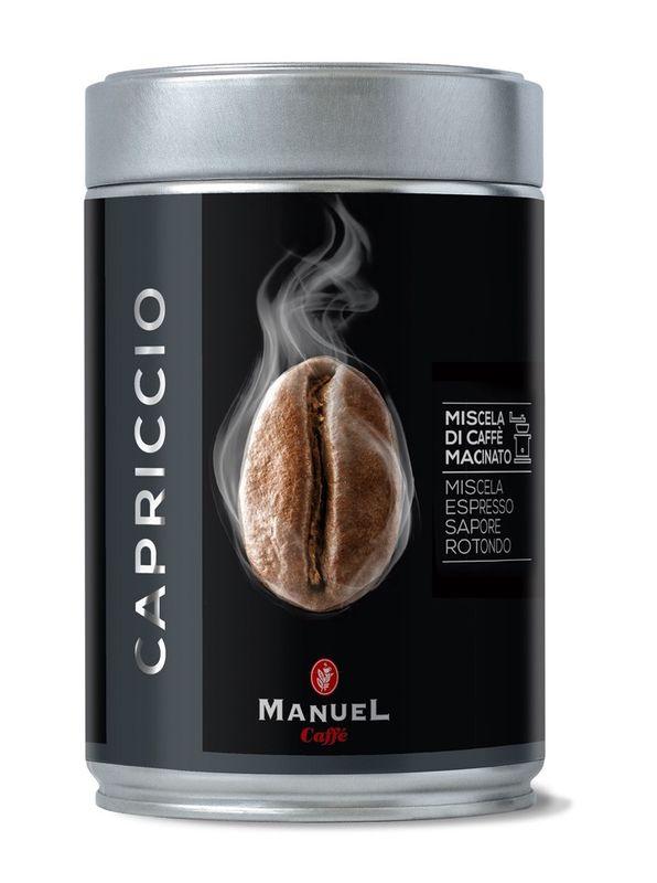 Manuel Caffe Gemalen Koffie
