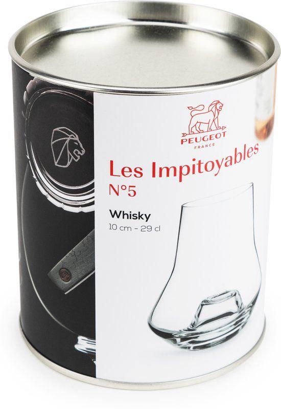Peugeot_Whiskyglas_LesImpitoyable_verpakking