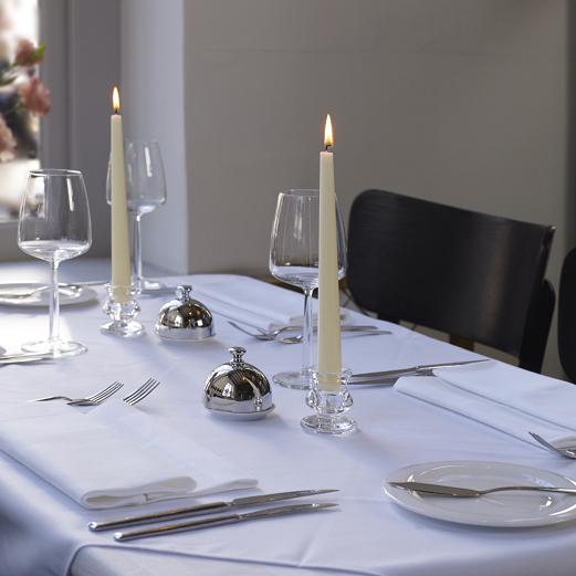 Bolsius tafelkaarsen Rustiek paars - 16 stuks sfeer