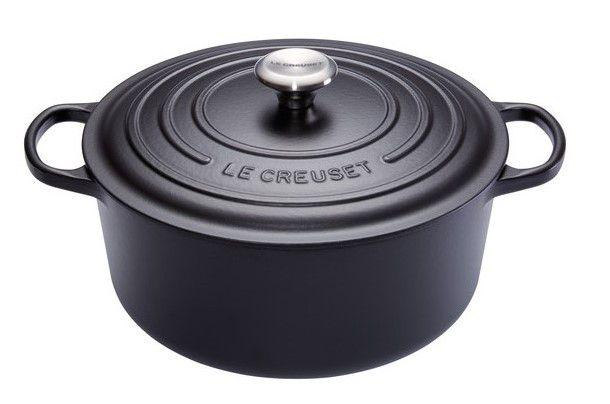 Le Creuset braadpan Signature zwart Ø 28 cm