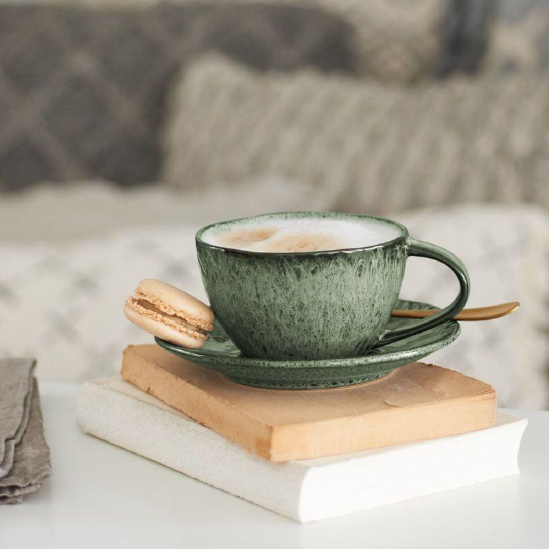 leonardo koffiekop groen 29cl