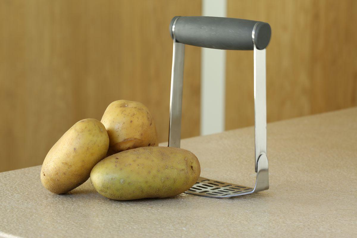 Aardappelstamper Hand sfeer