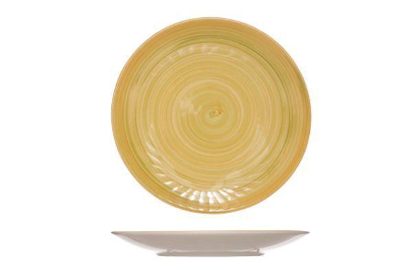 Dessertbord Geel Turbolino