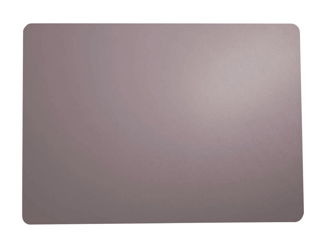 ASA Selection Placemat Leer Taupe 33 x 46 cm