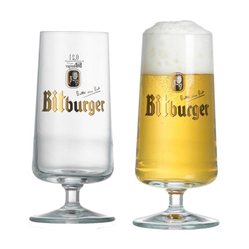 bitburger bierglazen