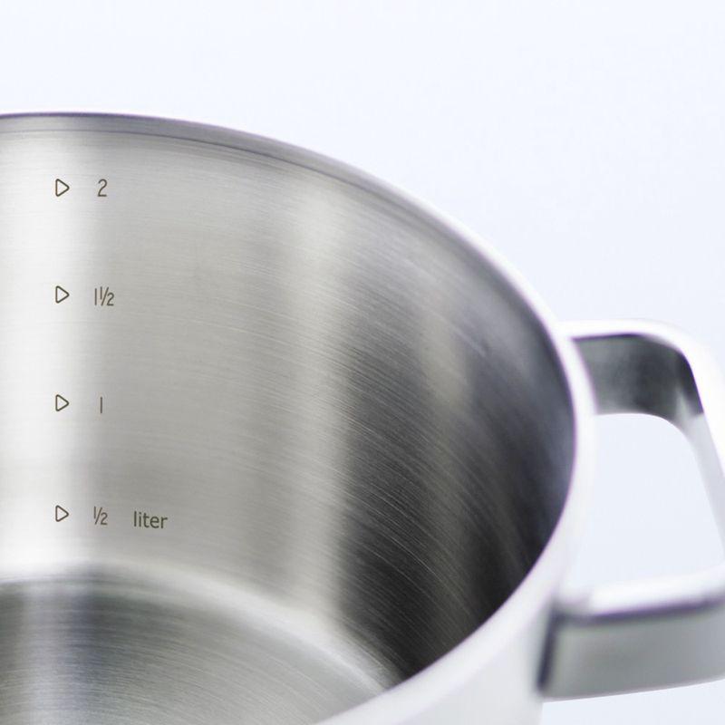 Bk pannenset Conical Plus 5-delig