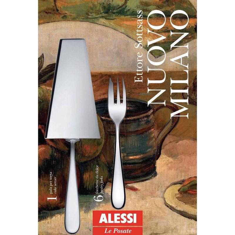 Alessi Gebaksset Nuovo Milano 7-Delig