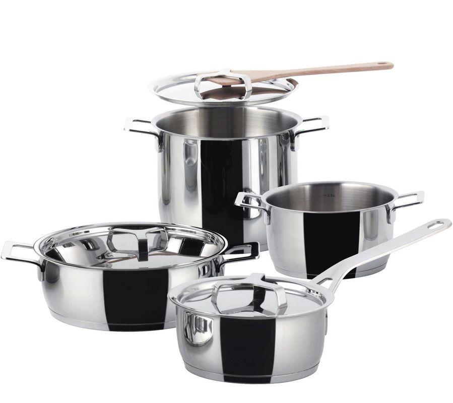 Alessi Pots Pans 4-delige pannenset AJM100S7