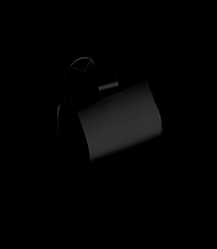 Decor Walther Basic toiletrolhouder TPH4 - zwart