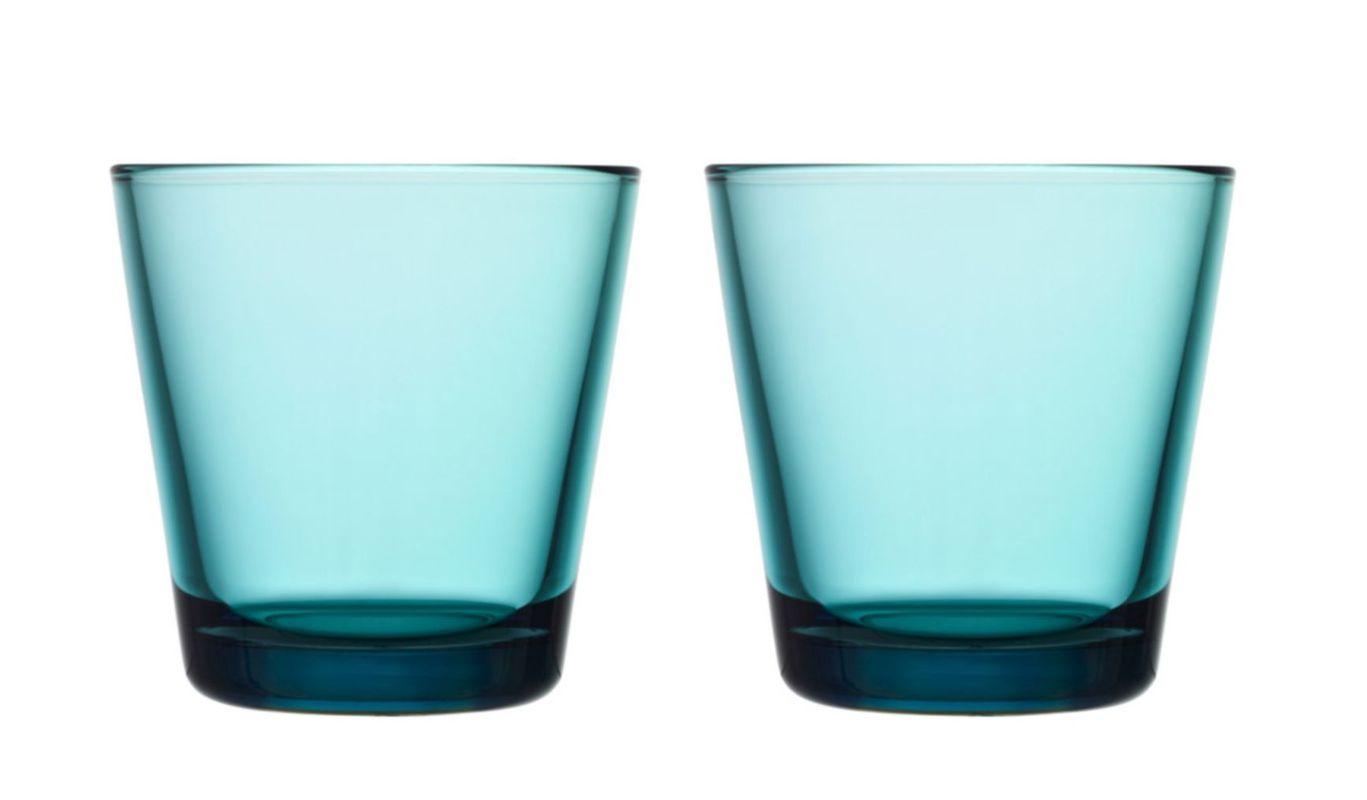 Iittala Kartio glas 21cl zeeblauw - 2 stuks