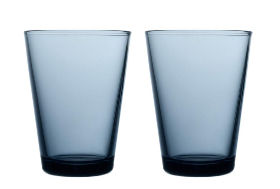 Iittala Kartio glas 40cl regenblauw - 2 stuks