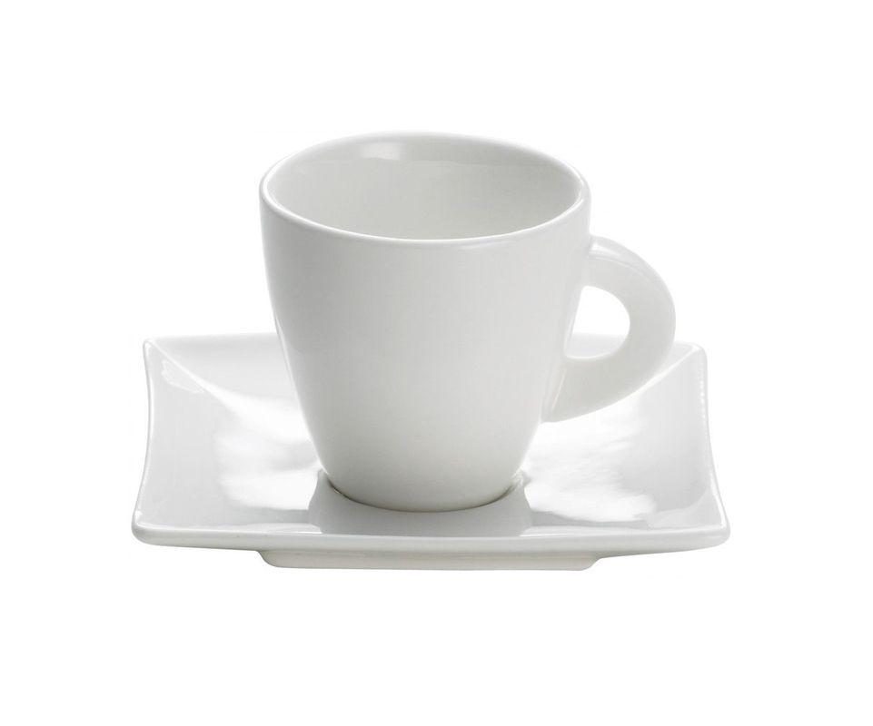 Maxwell & Williams Espresso Kopje Met Schotel East Meets West 8 cl