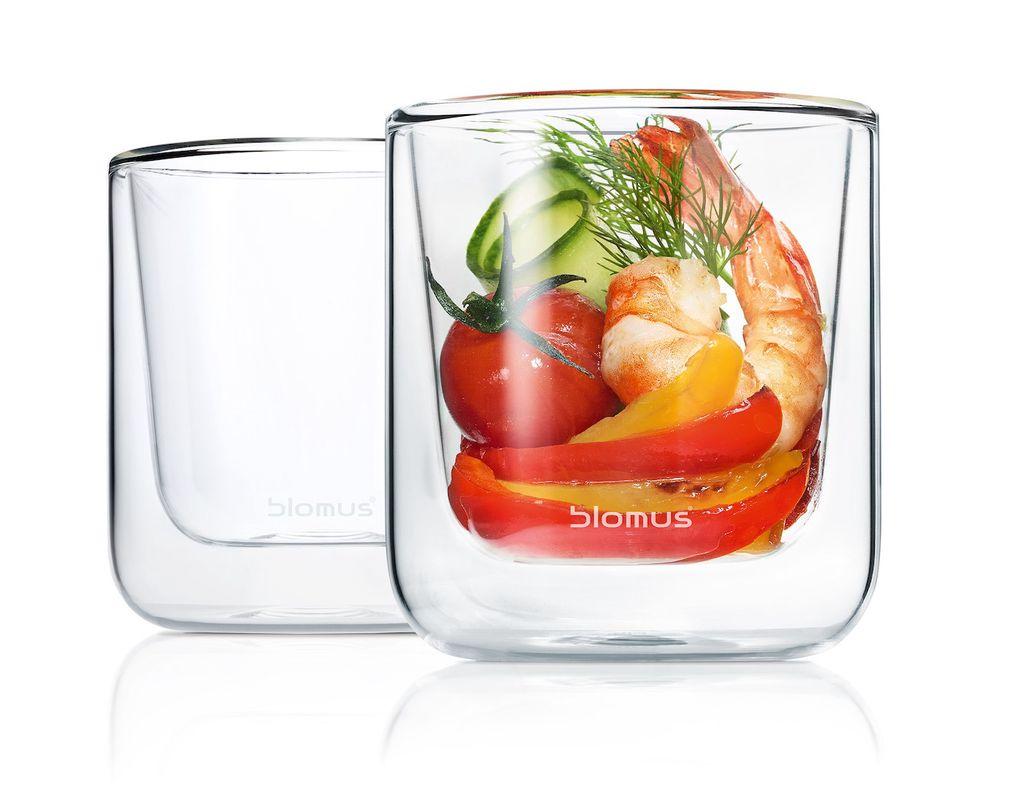 Blomus Dubbelwandige Glazen Nero