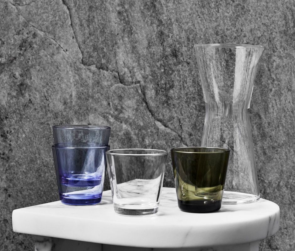 Iittala Kartio glas 21cl regenblauw - 2 stuks