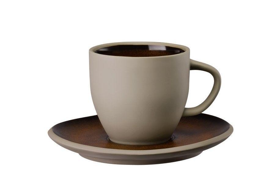 Rosenthal Junto koffiekop en schotel - bronze