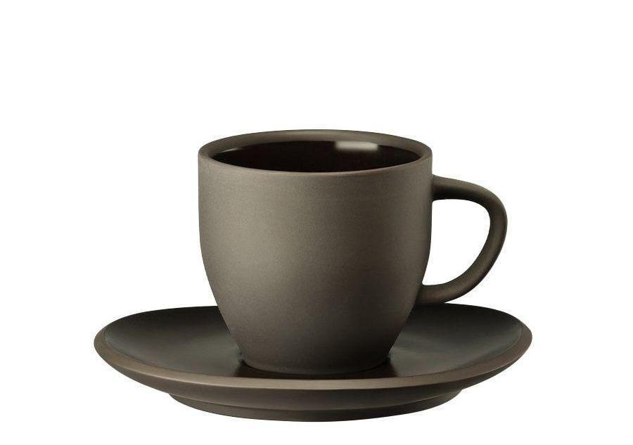 Rosenthal Junto koffiekop en schotel - slate grey