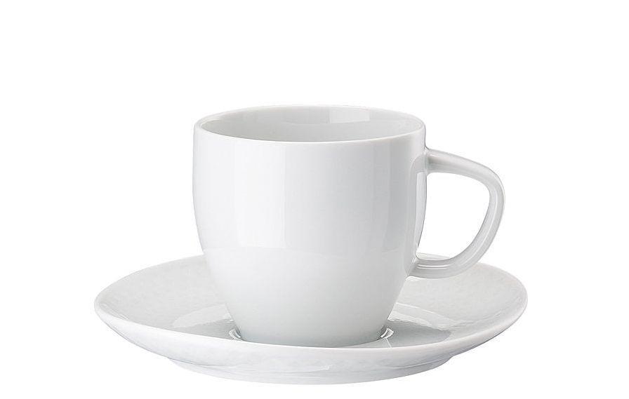 Rosenthal Junto koffiekop en schotel - wit