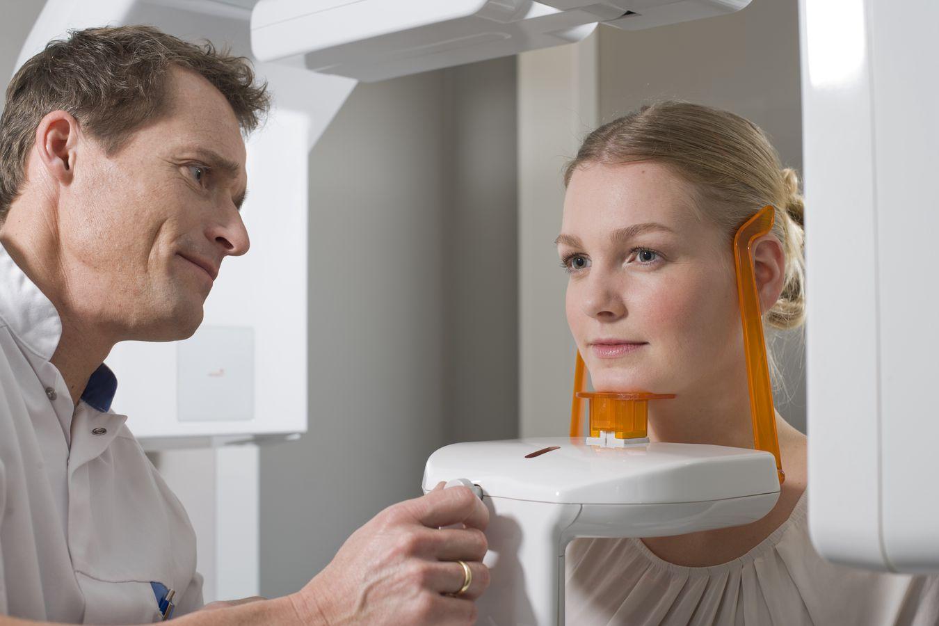 maken van een 3D-röntgenfoto