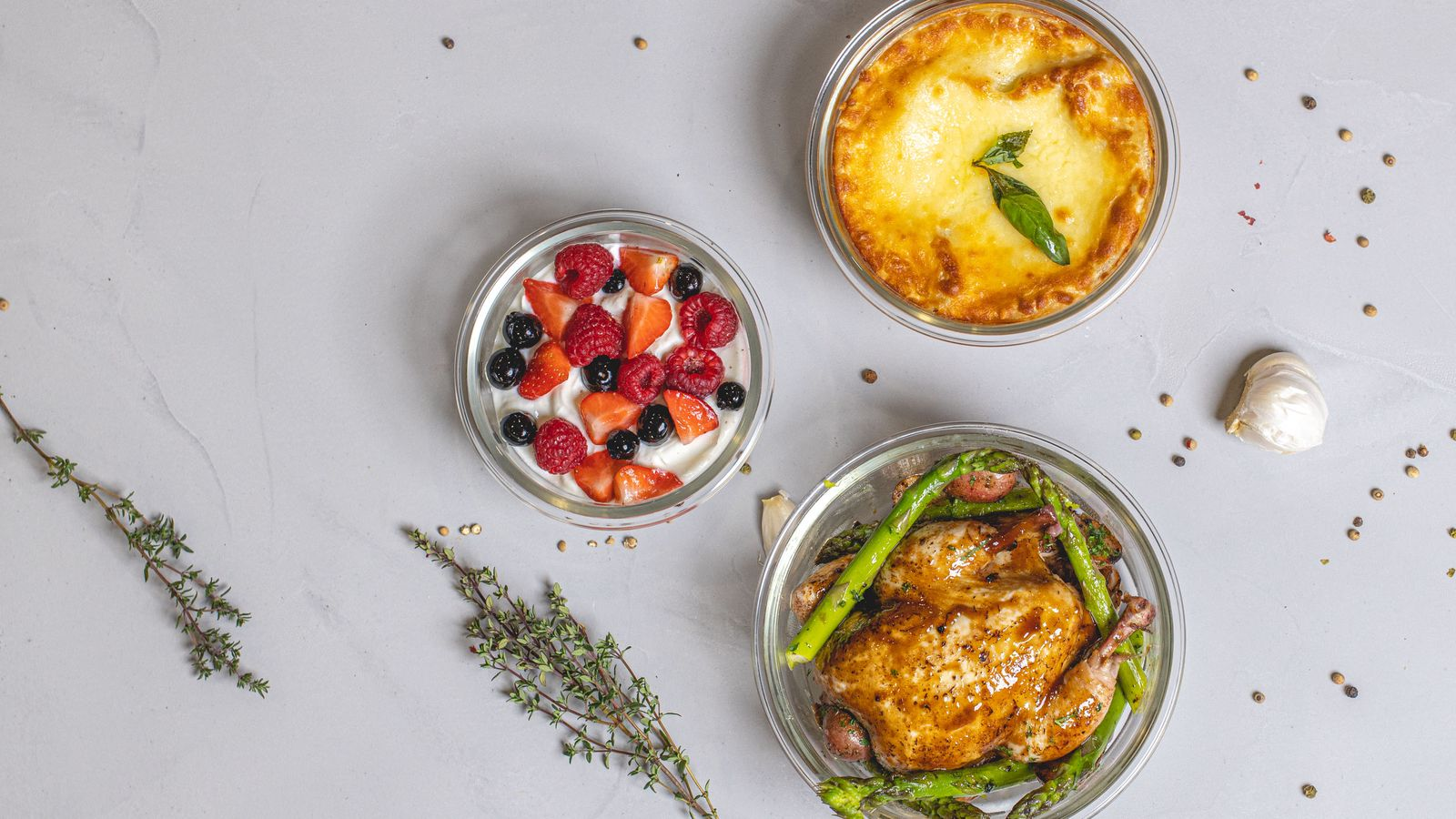 Food Containers & Oven Dishes
