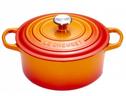 Le Creuset braadpan Signature oranje-rood Ø 28 cm