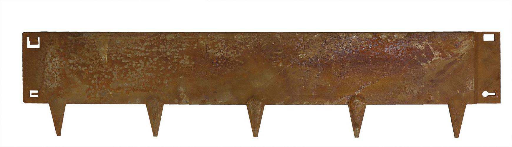 Cortenstaal Borderrand 24 x 106 cm Flexibel - Per Stuk
