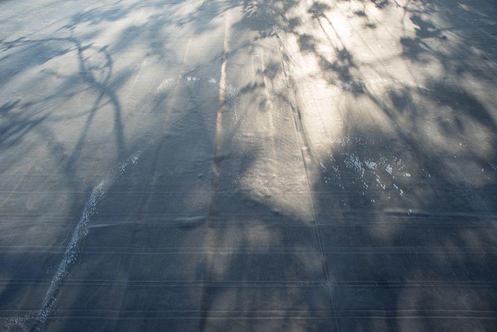 Epdm rubber dakfolie met lijm voor Max. 650x380 cm Daken