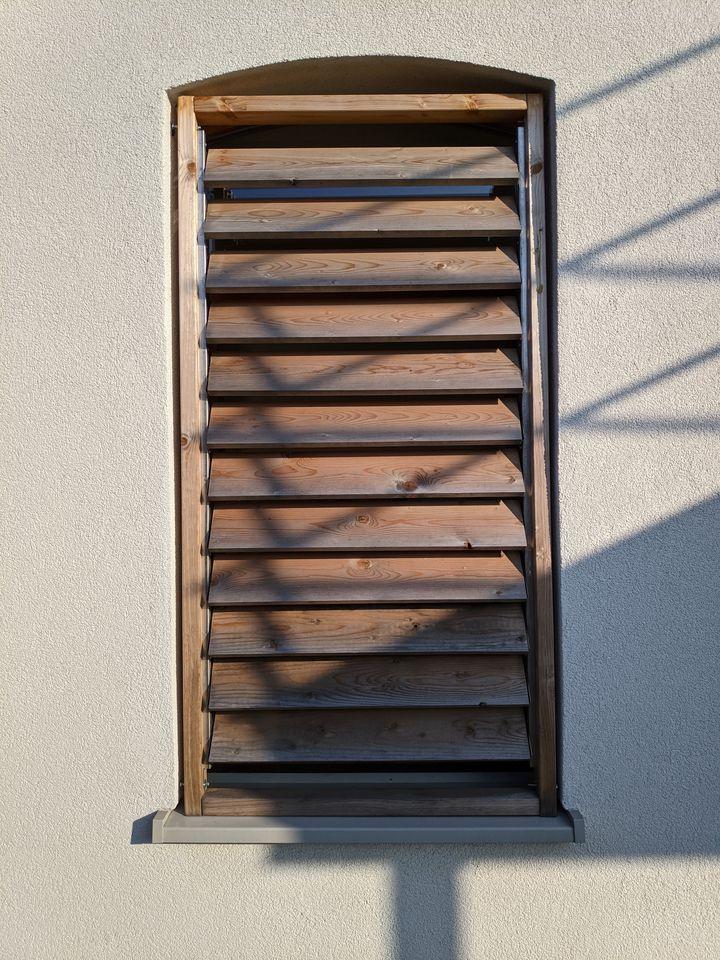 Lames orientables Flex Fence pour jardin en acier inoxydable 165 cm - 2 pièces