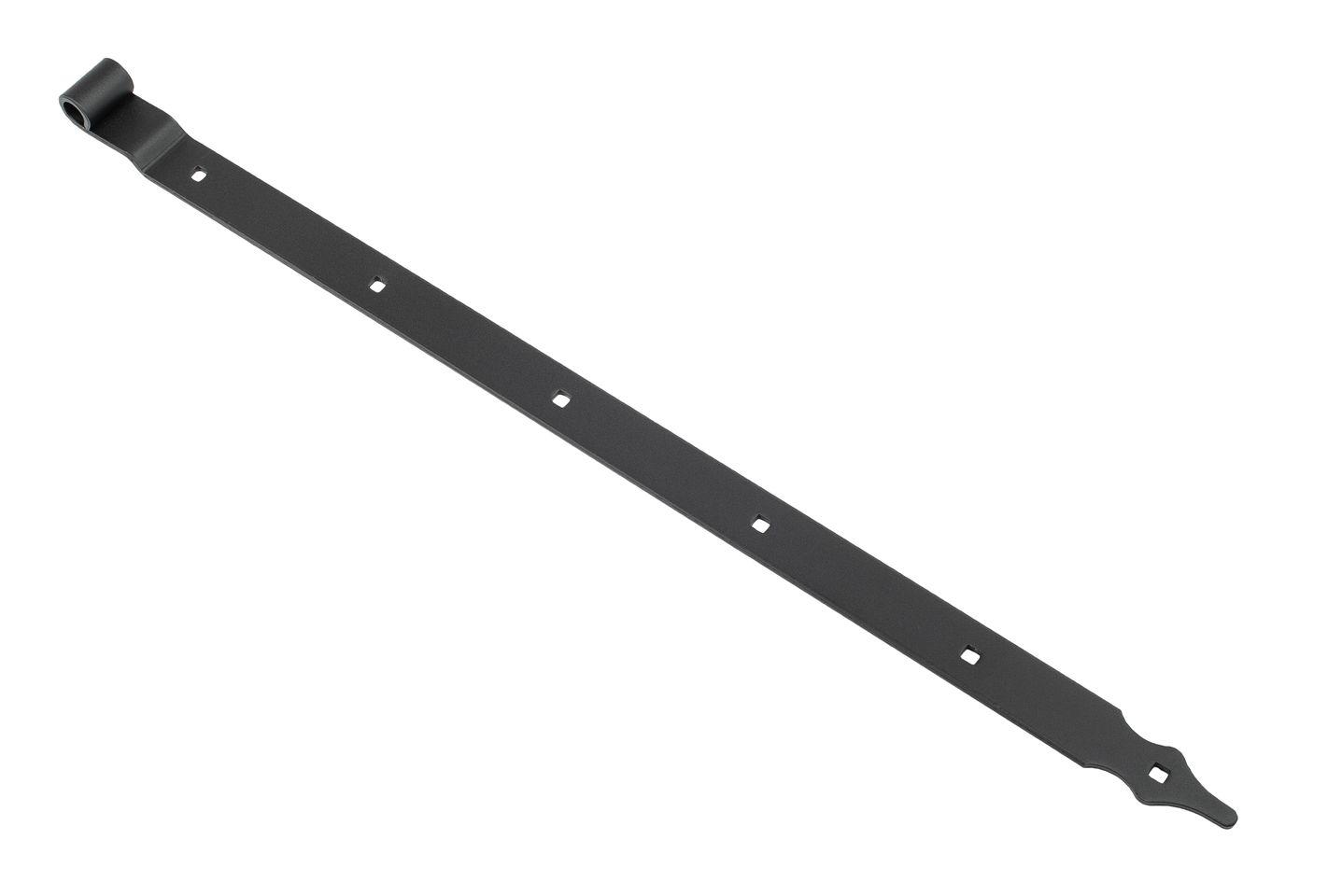 Ladenband schwarz gekröpft 80 cm