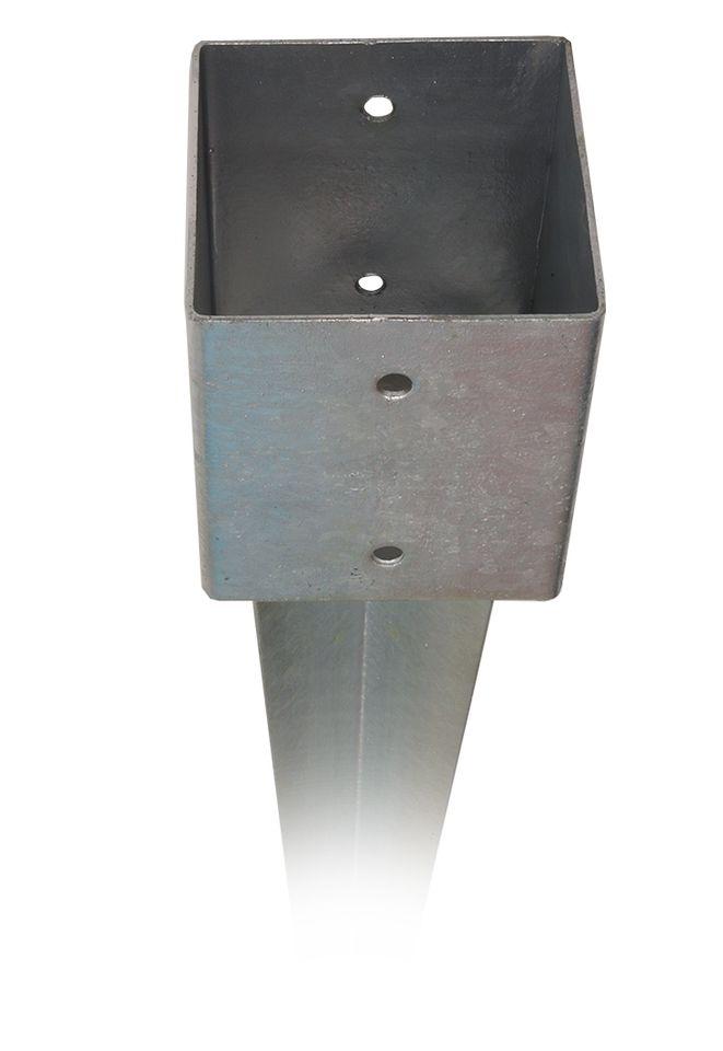 Einschlagbodenhülsen 121 x 121 x 900 mm