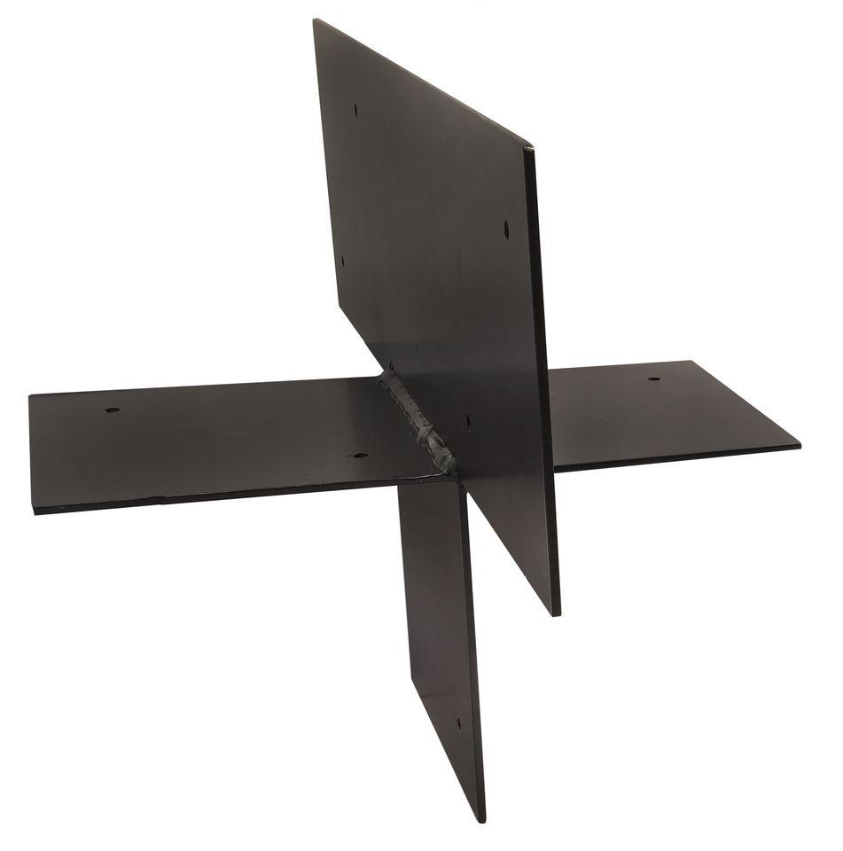 Pergola Hoekverbinding Zwart voor 15 x 15 cm balken - 2 Stuks