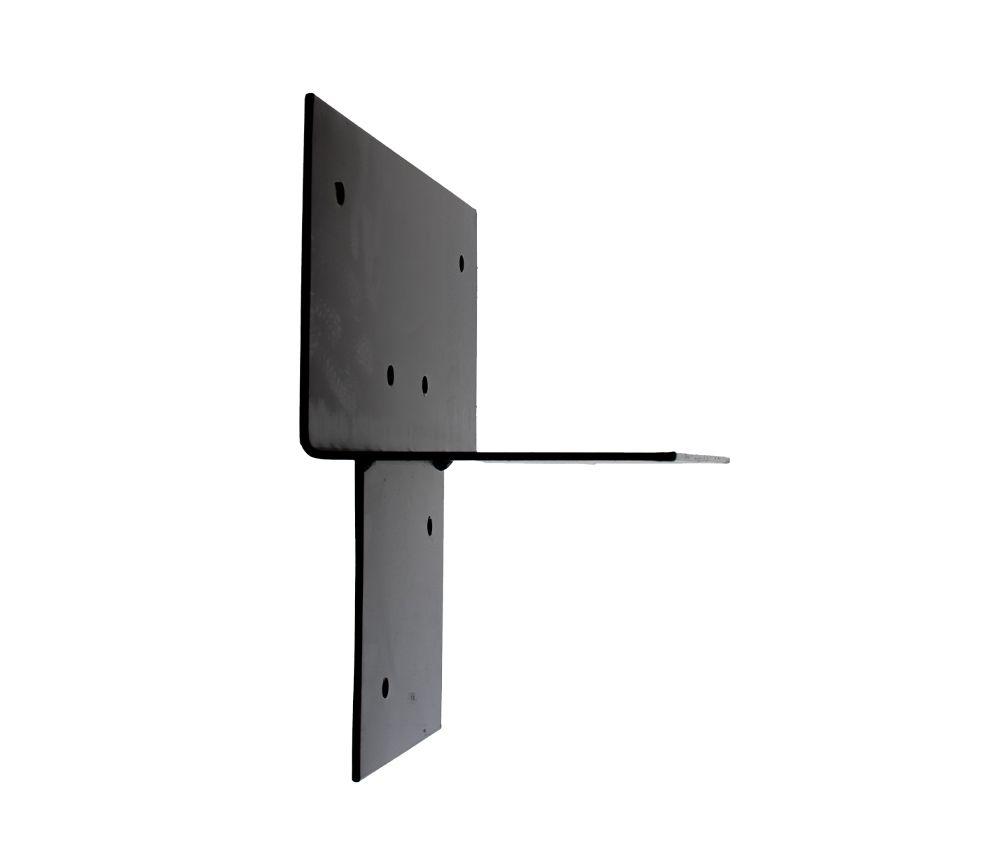 Pergola Dreiwegverbindung schwarz pulverbeschichtet