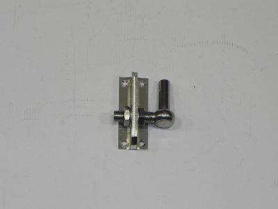 Gond sur platine réglable en inox 16 mm - Par pièce