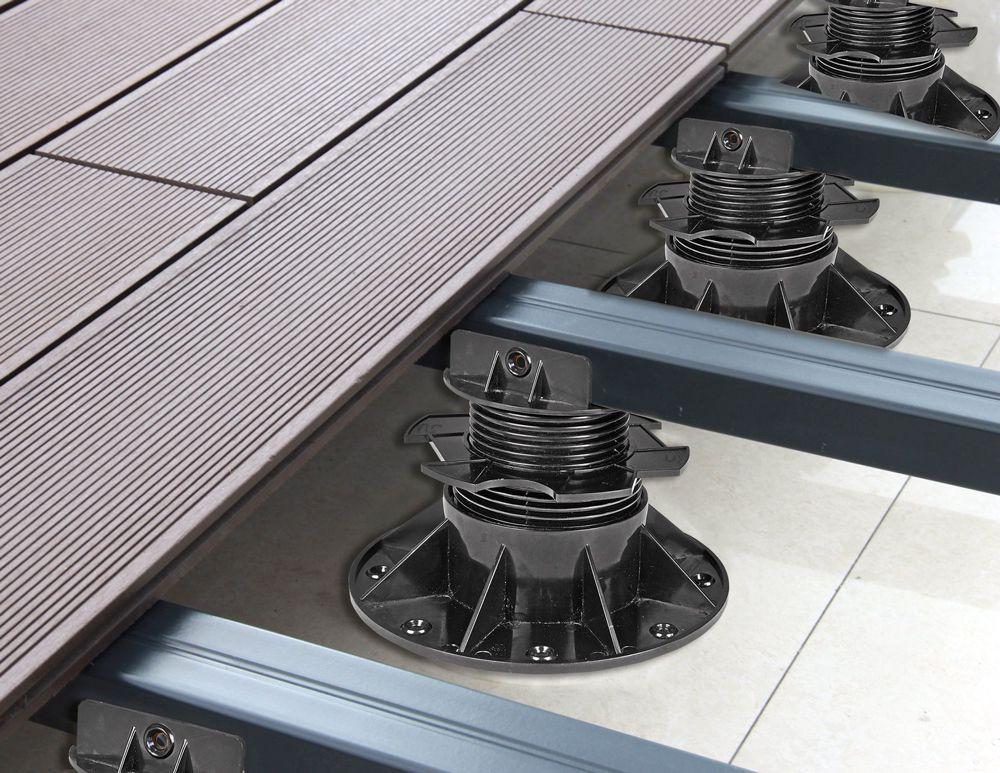 Support de terrasse réglable 4-6 cm - Par pièce